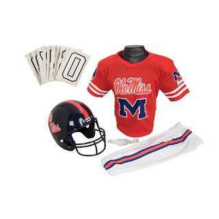 Franklin Sports Youth Mississippi Football Uniform Set