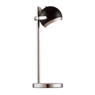 Cyber Chrome-Finish Table Lamp