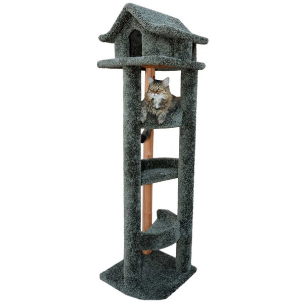 New Cat Condos 6-ft Pagoda Cat House