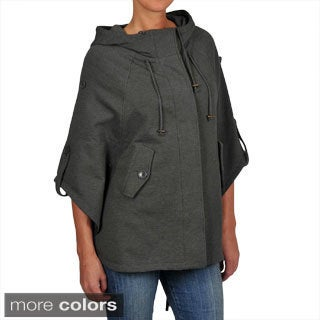 Sebby Women's French Terry Hooded Cape