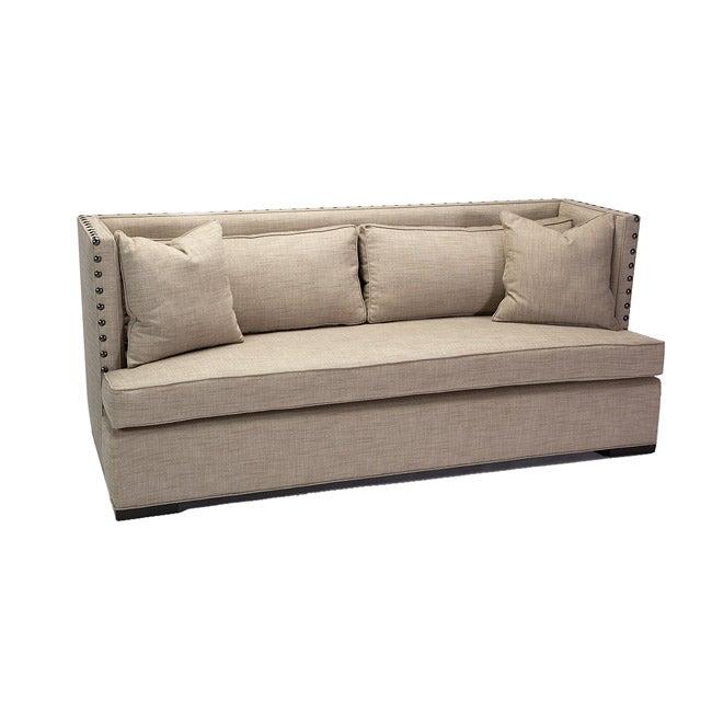 JAR Designs 'The Constantine' Silver Sofa