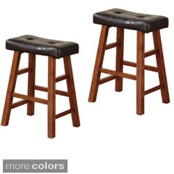 Montana 24-inch Barstools (Set of 2)