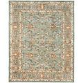 Handmade Heritage Nir Blue Wool Rug (7'6 x 9'6)