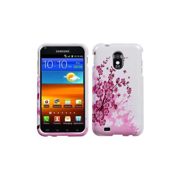 Insten Spring Flowers Protector Phone Case Cover for Samsung Galaxy S2 Epic 4G Touch