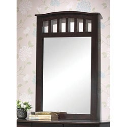 Dark Walnut Youth Mirror