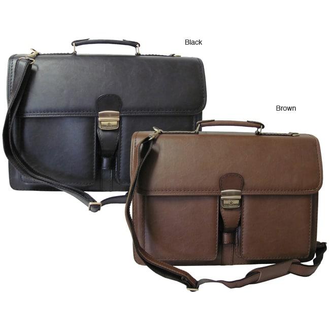 Amerileather Theodore Executive Leatherette Briefcase
