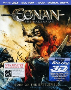 Conan The Barbarian 3D (Blu-ray/DVD)