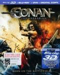 Conan The Barbarian 3D (Blu-ray/DVD)