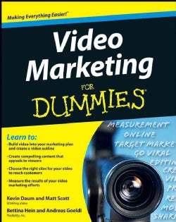 Video Marketing for Dummies (Paperback)