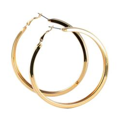 Toscana Collection 14k Goldplated 3-pair Hoop Earring Set