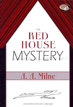 The Red House Mystery: Library Edition (CD-Audio)