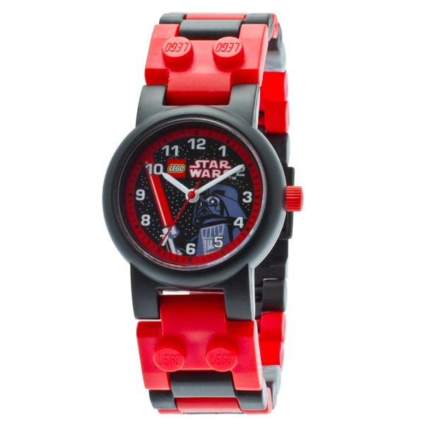 LEGO Star Wars Darth Vader Kid's Minifigure Interchangeable Links Watch