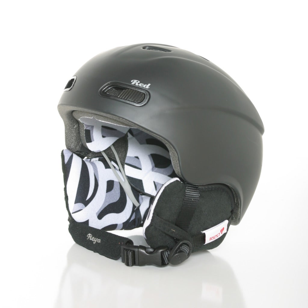 Red Protection Reya Women's Helmet in Black (53-55 cm or 55-57 cm)