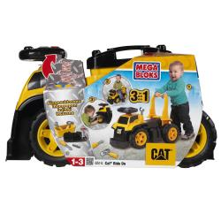 Mega Bloks CAT 3-in-1 Ride On Truck 12-piece Playset