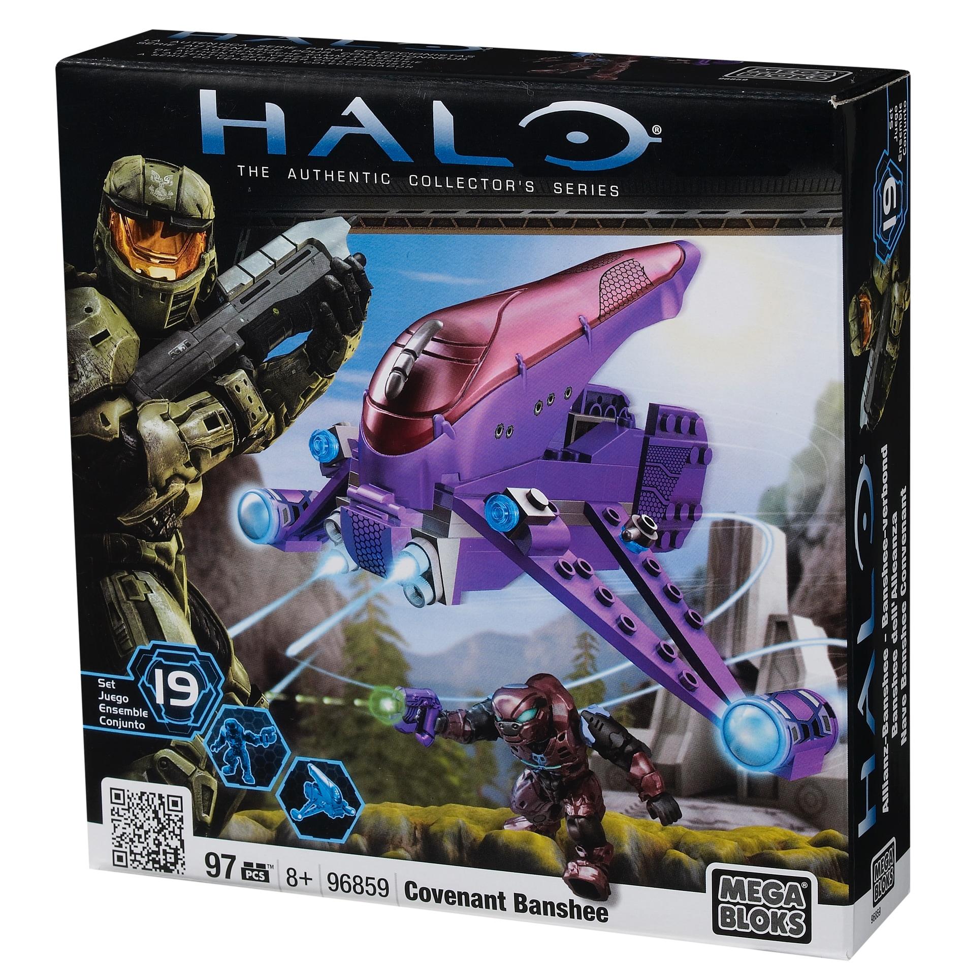 Mega Bloks Halo Covenant Banshee
