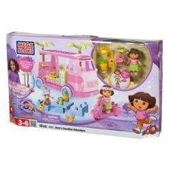 Mega Bloks Dora The Explorer Vacation Adventure Play Set