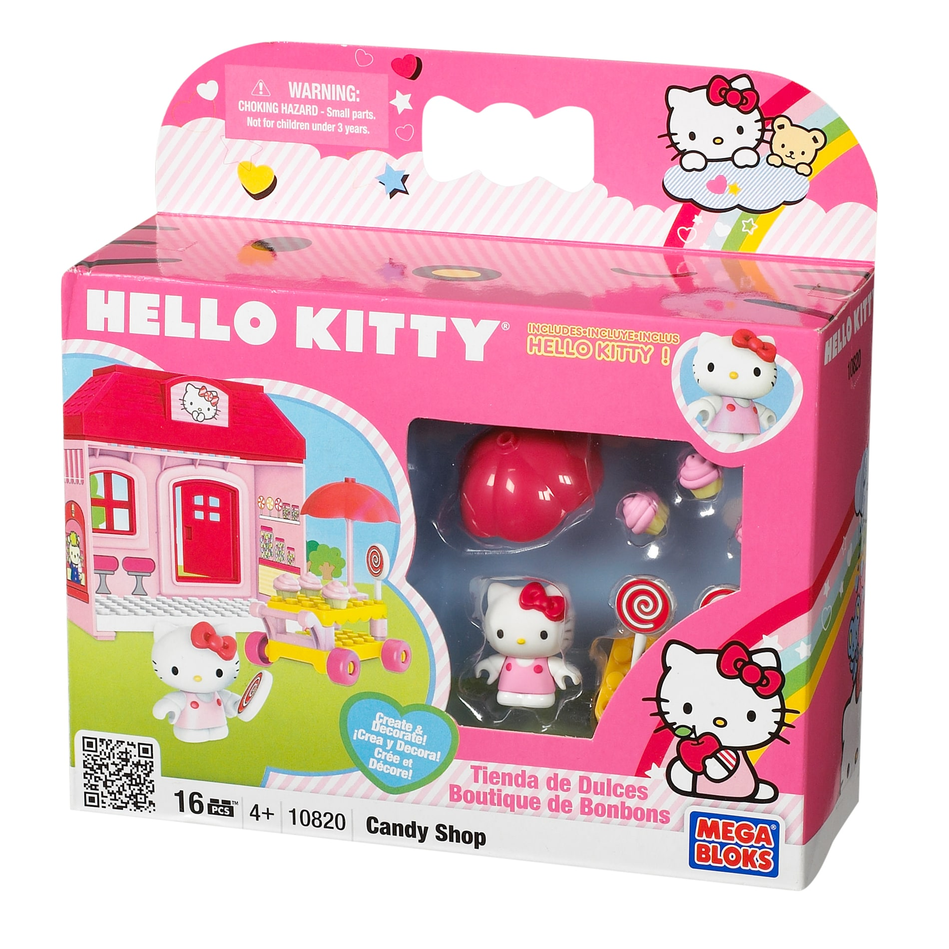 Mega Bloks Hello Kitty Candy Store Play Set