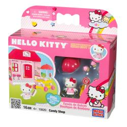 Mega Bloks Hello Kitty Candy Store Play Set