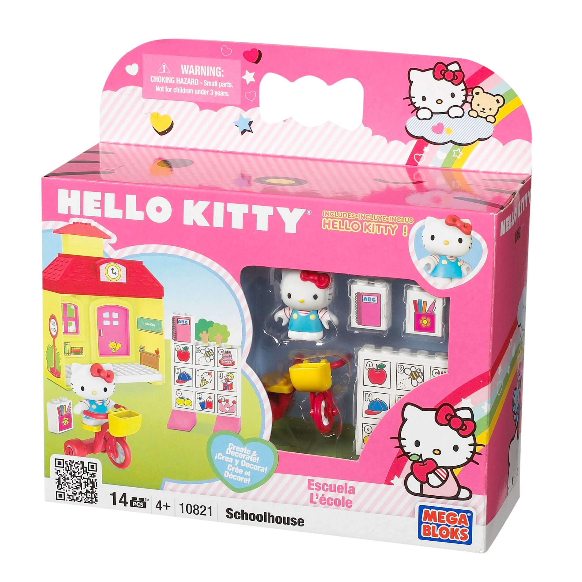 Mega Bloks Hello Kitty School House Play Set