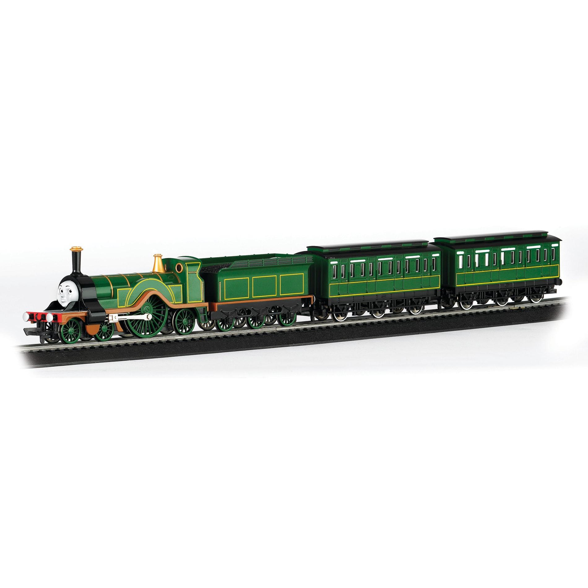 Bachmann HO Scale Thomas and Friends Emily Passenger Train Set