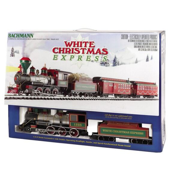 Bachmann G Scale White Christmas Large Train Set