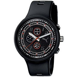 PUMA Gents 'Slick' Black Chronograph Watch