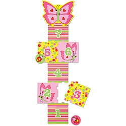 Melissa & Doug Bella Butterfly Hopscotch Play Set