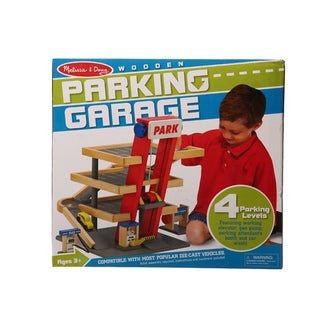 Melissa & Doug Parking Garage Play Set