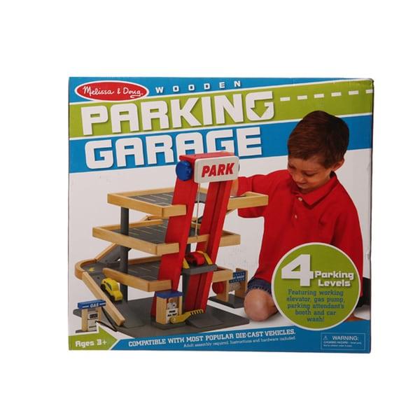 Melissa & Doug Parking Garage Play Set