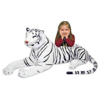 Melissa & Doug Plush White Tiger