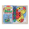 Melissa & Doug Sort and Snap Color Match Activity Set