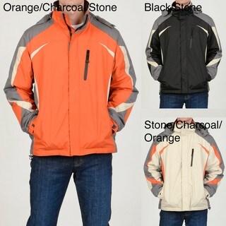 Chaps Men's Fleece-lined Hooded Jacket