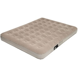 Pure Comfort Queen-size Low Profile Suede Top Air Bed