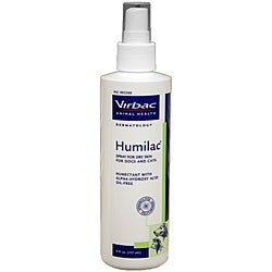 Humilac 8-ounce Dry Skin Pet Spray