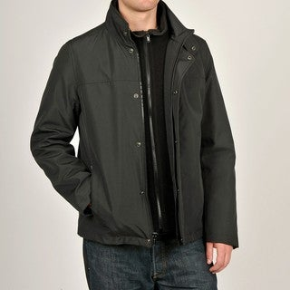 Chaps Men's Black Hipster Jacket