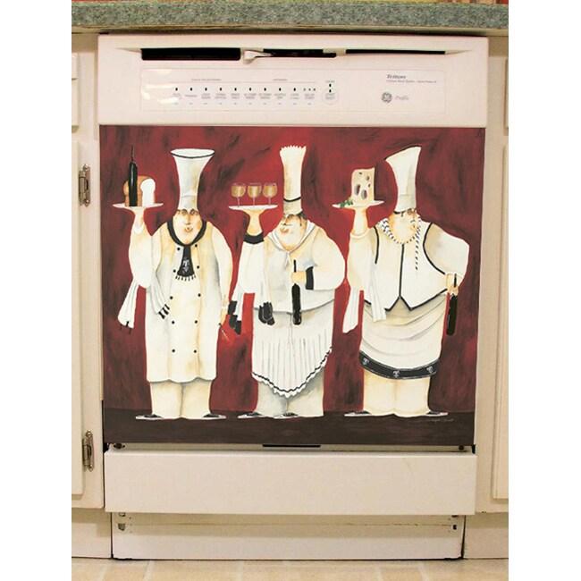 Appliance Art '3 Chefs' Dishwasher Cover