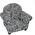 Magical Harmony Kids Minky Zebra Sweet Chair
