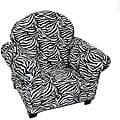 Magical Harmony Kids Minky Zebra Sweet Chair