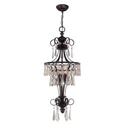 World Imports Lille Collection 3-Light Hanging Pendant