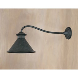 World Imports Dark Sky Kingston Single Light Outdoor Long Arm Wall Sconce