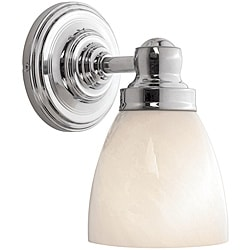 World Imports Troyes 1-Light Chrome Wall Sconce