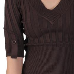 Ci Sono by Adi Junior's Half-sleeve V-neck Sweater