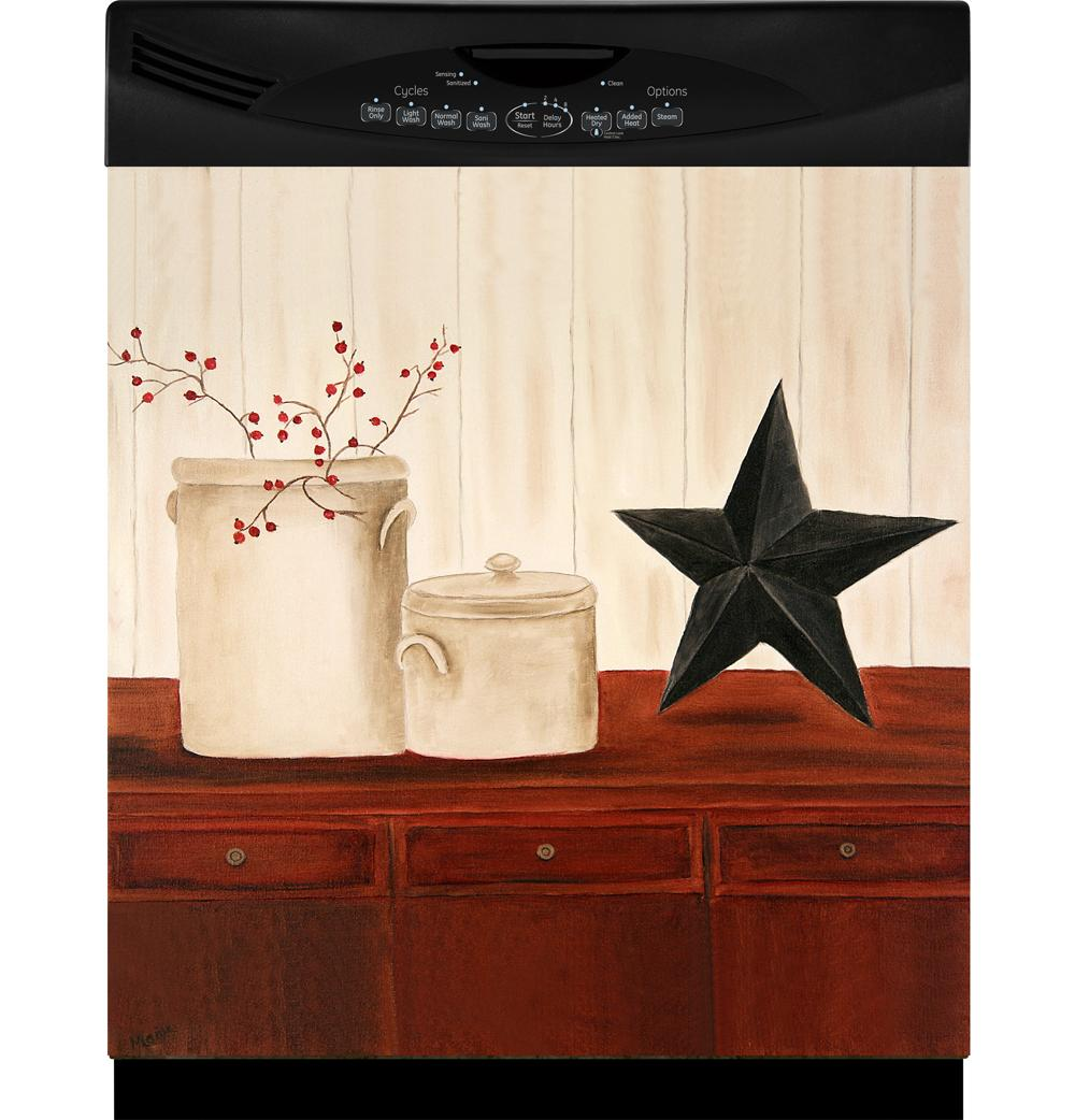 Appliance Art 'Crocks and Star' Dishwasher Cover