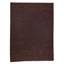 Hand-woven Cher Brown Area Rug (8' x 10')