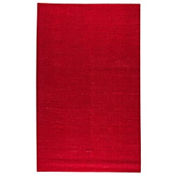 Hand-woven Cher Pink Rug (8' x 10')