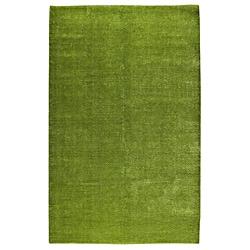 Hand-woven Cher Green Rug (8' x 10')