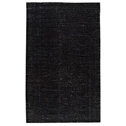 Hand-woven Cher Black Rug (8' x 10')