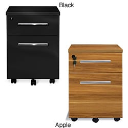 J & K Laminate 2-drawer Mobile File Pedestal