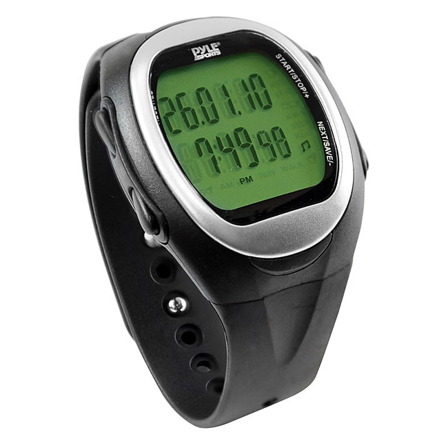 Pyle Speed and Distance Watch for Jogging and Walking