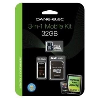 Dane-Elec DA-3IN1C1032G-R 32 GB microSD High Capacity (microSDHC)